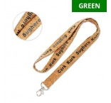 ML1038 - Cork lanyard. Min 100 pcs