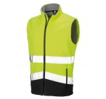 R451X0906 - R451X•S/G Printable Safety Softshell Gilet